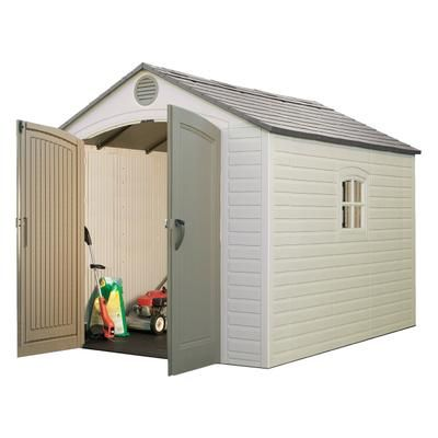 Lifetime Products Lifetime Storage Shed 8 Ft X 10 Ft 6405 Home Depot Canada Outdoor Storage Sheds Shed Outdoor Storage Buildings