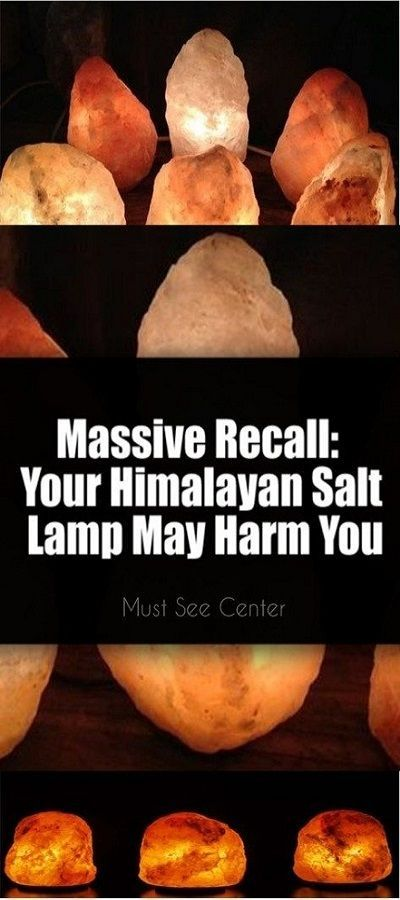 Recall: Your Himalayan Salt Lamp May Harm You Himalayan rock salt lamps became very popular since recently. People have various reasons to have one, whether because of the look or because of the health benefits the Himalayan rock salt lamps can have.Himalayan rock salt lamps became very popular since recently. People have various reasons to have one, wh...