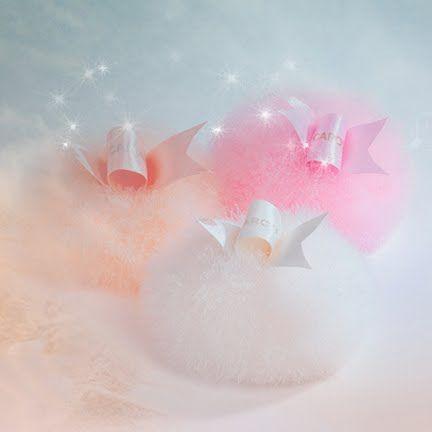 Pastel powder puffs <3