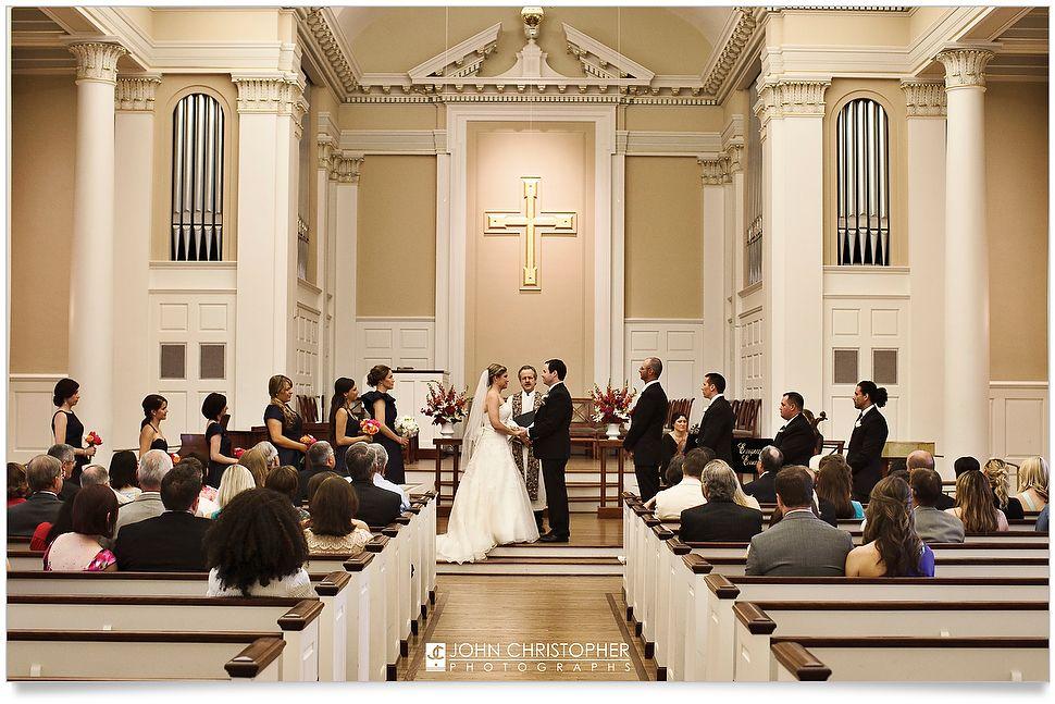 SMU Perkins Chapel Wedding Photos Dallas Texas C John Christopher Photographs