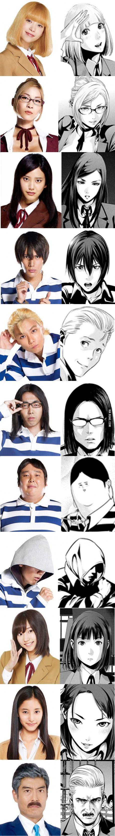Prison School cast