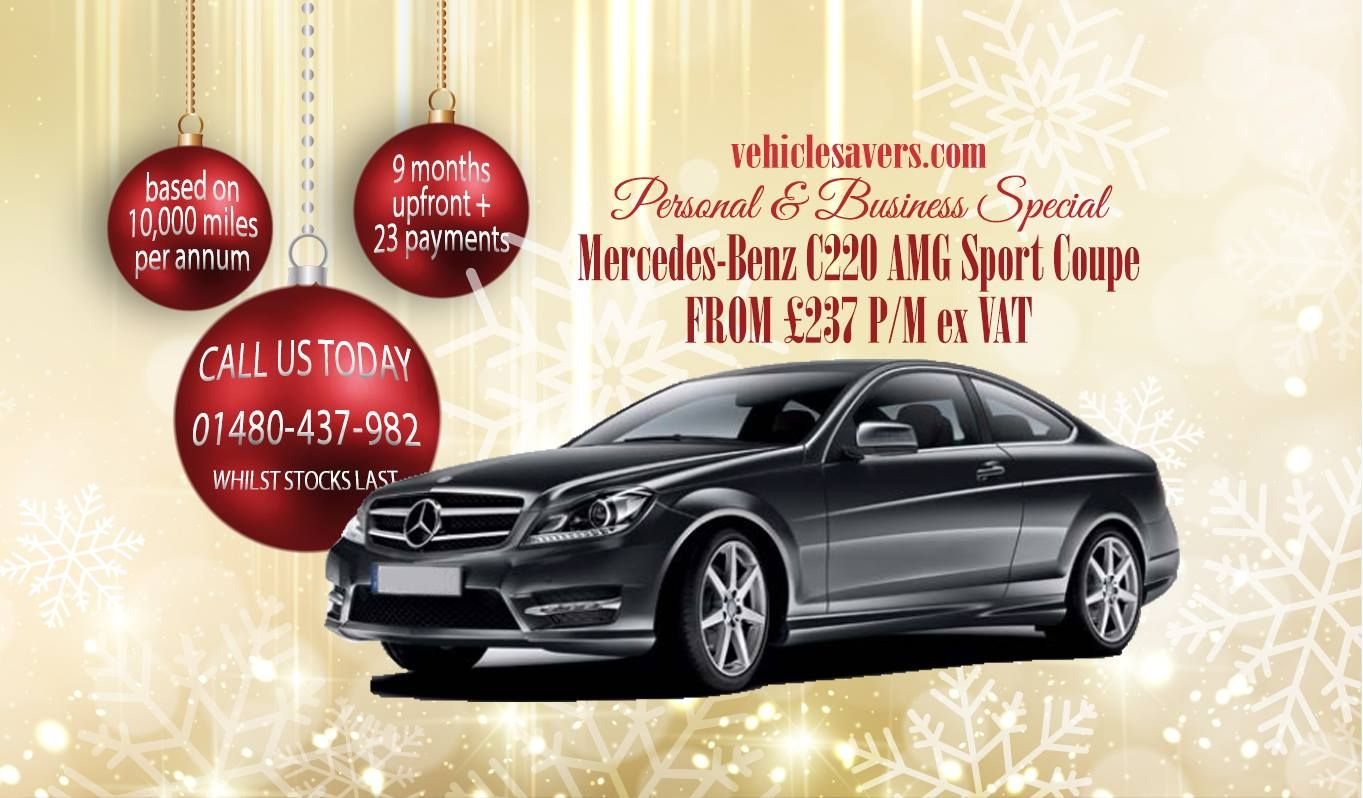 Lease a Mercedes-Benz C-CLass Coupe from £237P/M | Benz c ...