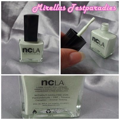 Mein neuer Nagellack NCLA Lacquer Nail AM: Beauty Sleep, PM: Shopping Spree.
