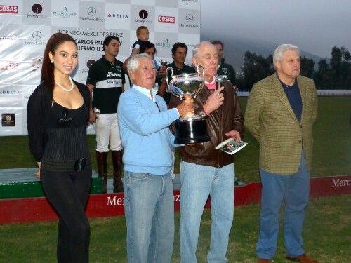 Premiación de Polo.