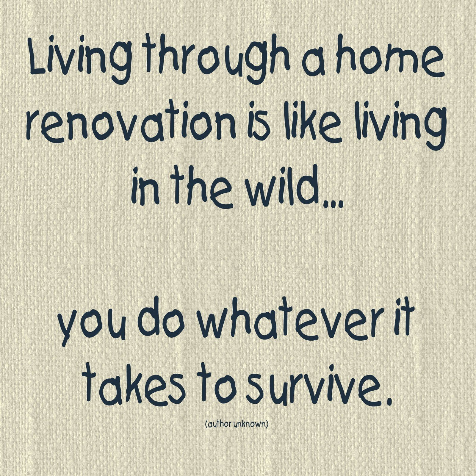 Funny Quotes Home Renovation. QuotesGram