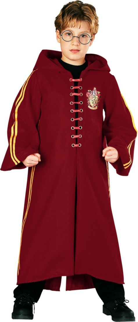Deluxe Harry Potter Quidditch Costume for Boys - Party ...