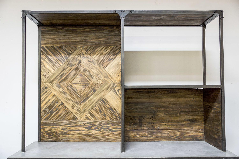 Custom Reclaimed Wood Furniture Made By Planks Usa Orange County Ca