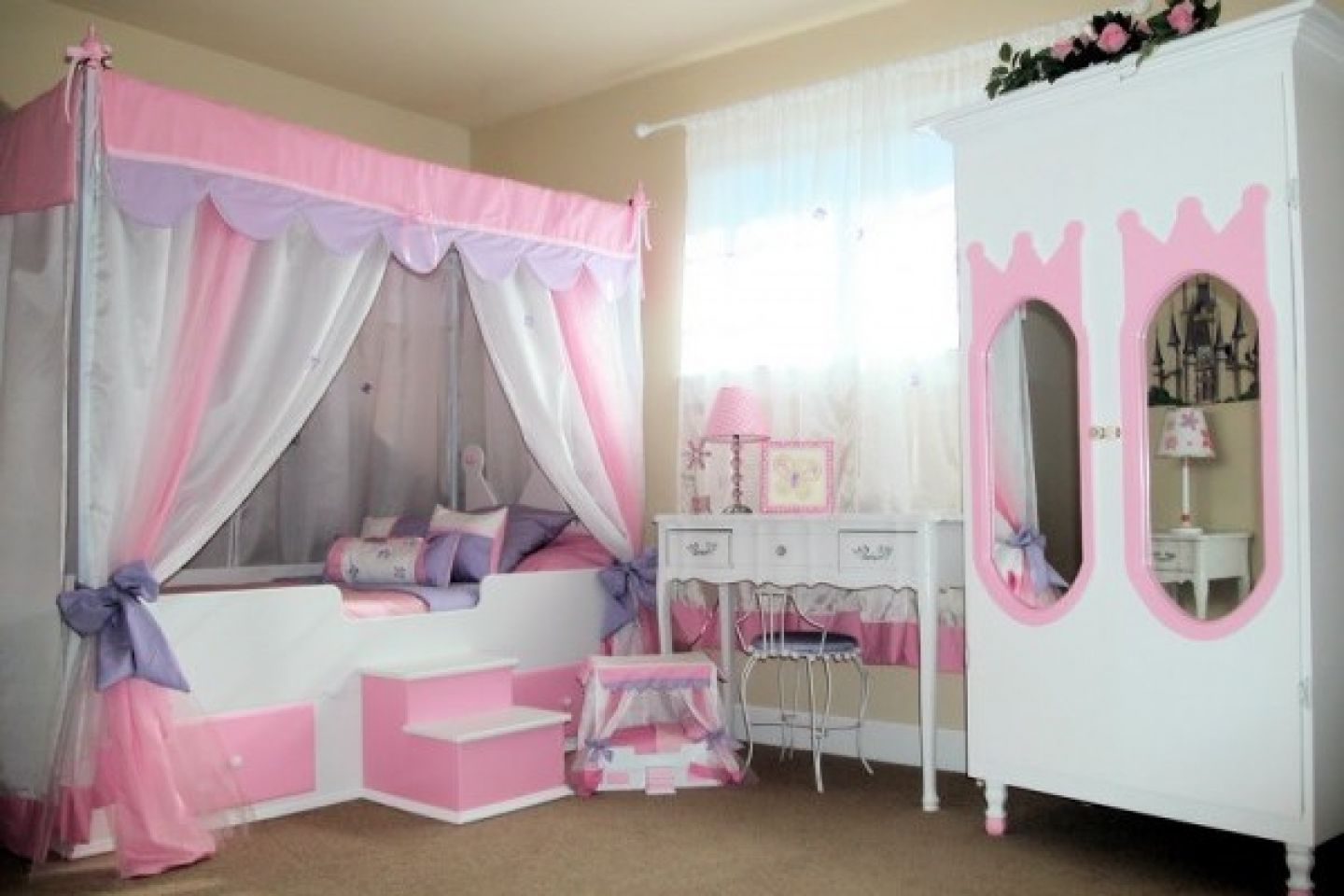 Princess Bedroom Designs Impressive Stunning Children Bedroom With Colorful Kids Bedroom Sets Design Decoration