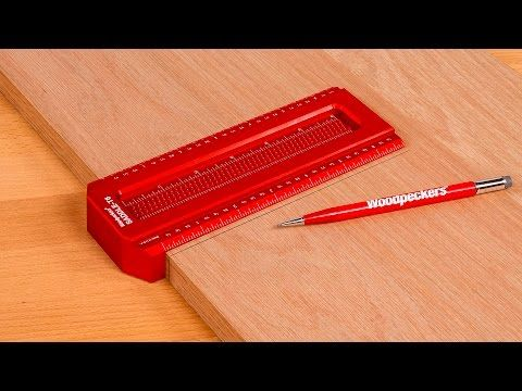 Woodpeckers Saddle T Squares Accomplish Two Layout Tasks Other Squares Simply Can T First You Can Carry Your Pencil Line Across Derevo Instrument Osveshenie