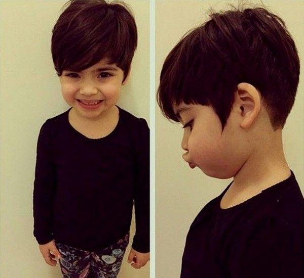 Модные стрижки на короткие волосы для девочек