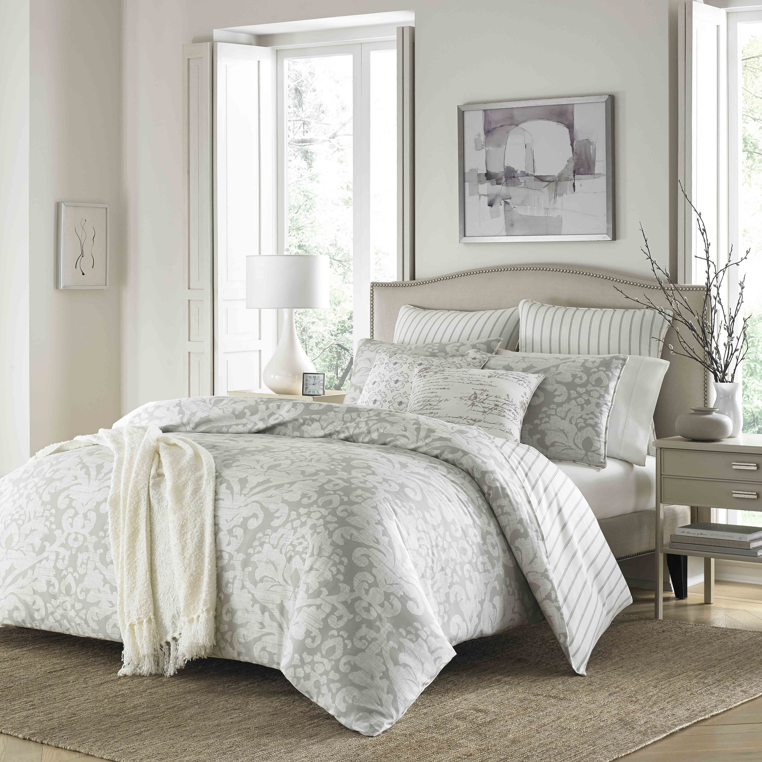 bedding is pin and stone timeless cottage classic