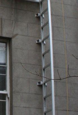 Fire Escape Folding Ladder Balcony Fire Escape