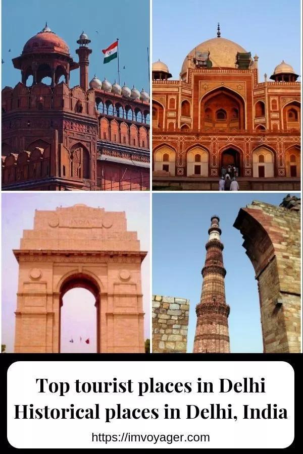 Historical Places In Delhi Top Tourist Places In Delhi India Tourist Places Historical Place Cool Places To Visit