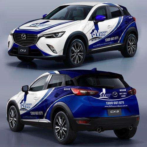 SUV Wrap Design   Van Graphics   Pinterest   Car wrap, Mazda and Cars