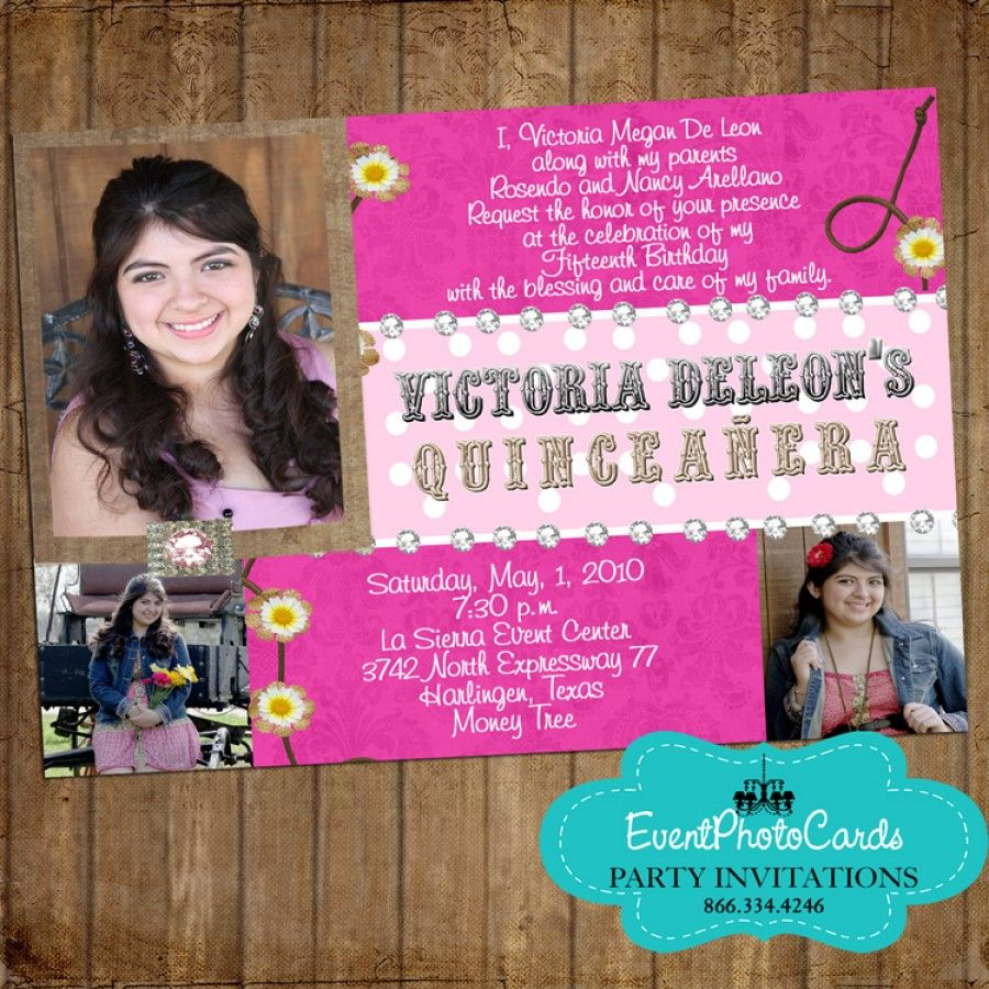 Pink Western Cowgirl Mis Quince | Western Quinceanera Party Theme ...