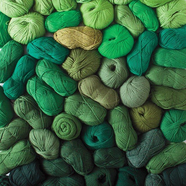 It's the luck of the stylish: save up to 40% off on 100 green yarns!  But hurry this lucky deal lasts for one-week only. #yarnsale #happydance #lucky #yarn #knitpicks by knit_picks