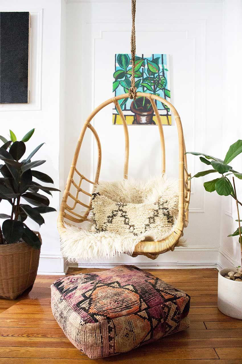 The coupleus art and malloryus textiles make this house a home on