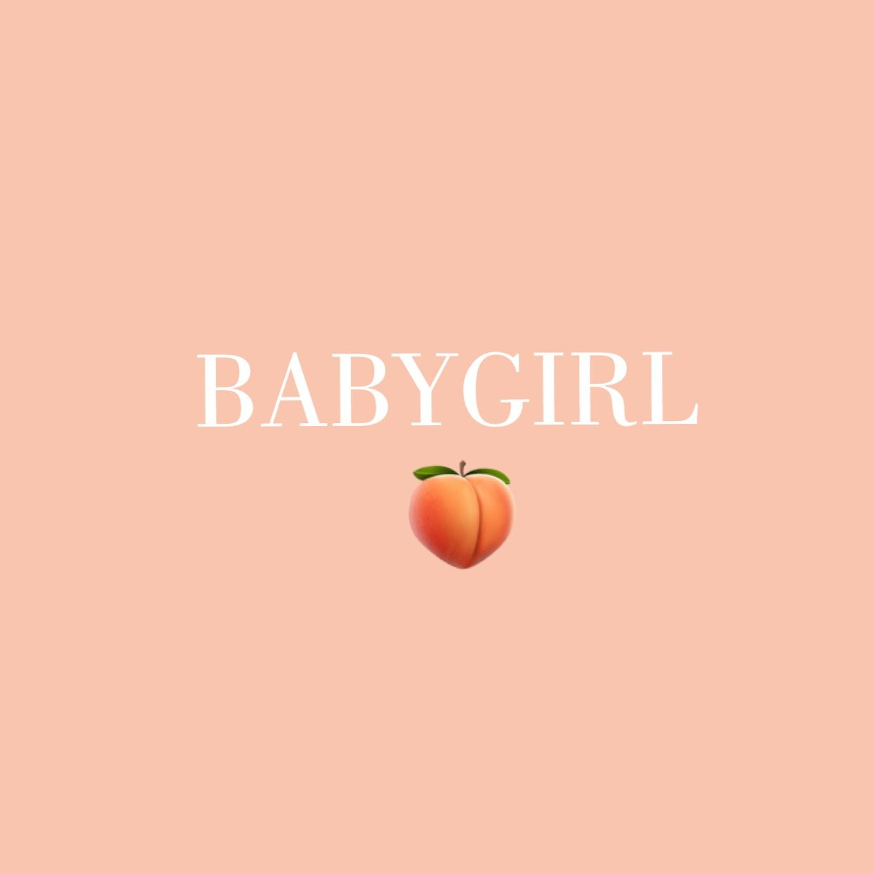 babygirl by queenmae19 Cute wallpapers, Peach aesthetic
