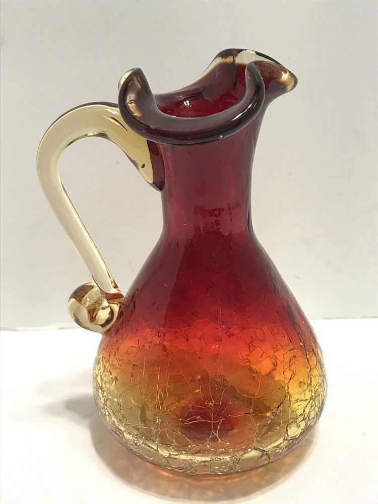 Colorful Modern Ceramic Art Pitcher And Tumblers On Ebay