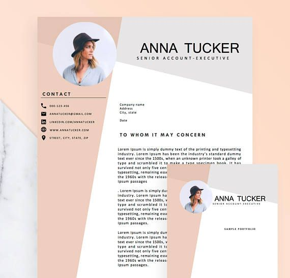 Eye Catching Resume Templates Welcome To The Resume Boulevard An Esty Shop For Highquality