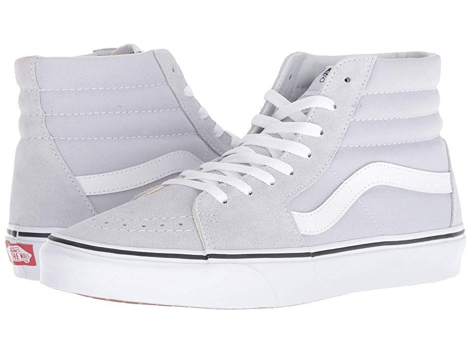 fc67479a77 Vans SK8-Hitm (Gray Dawn True White) Skate Shoes. Keep it old school ...