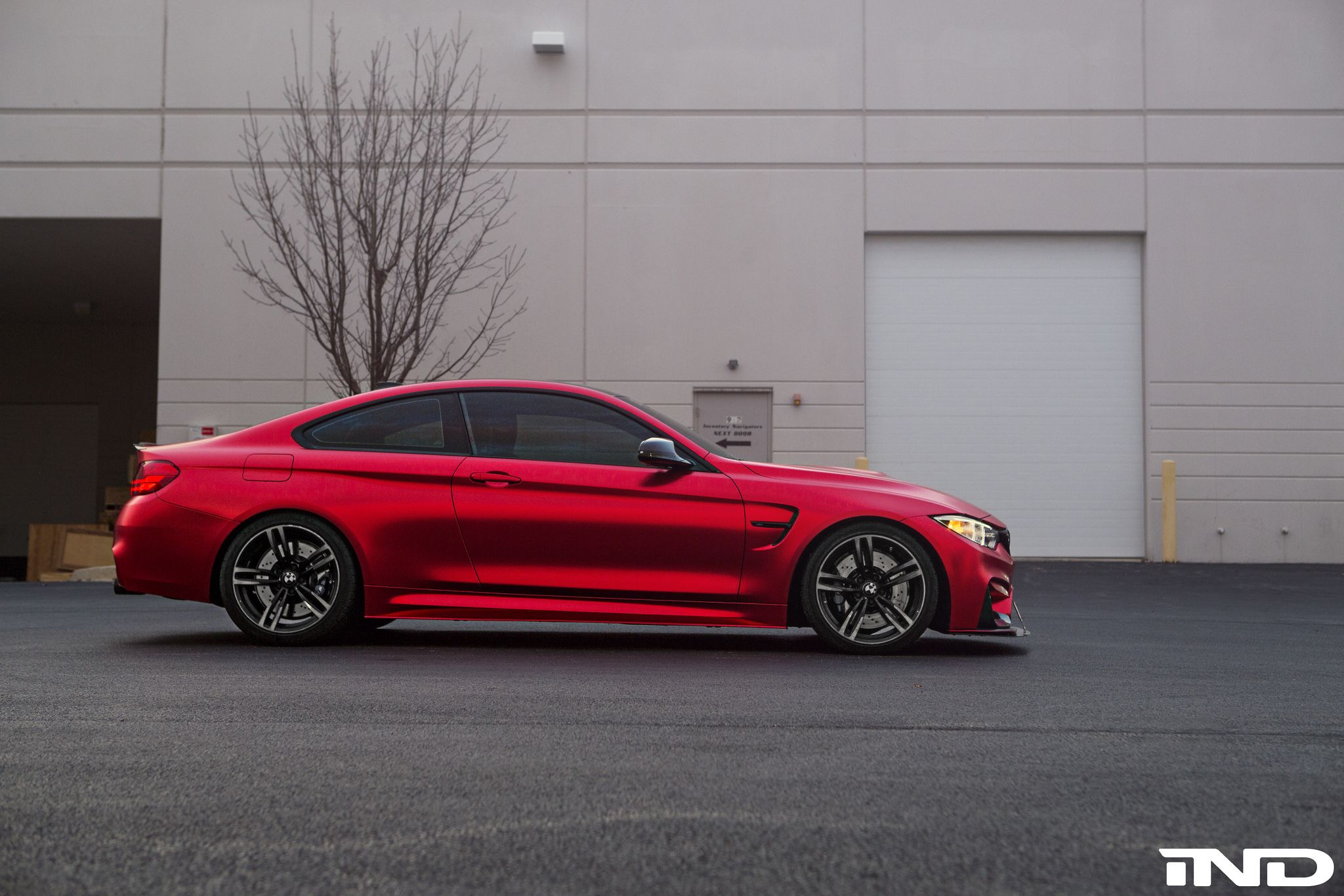 Photoshoot This Matte Red Bmw M4 Is A Thing Of Beauty Bmw M4