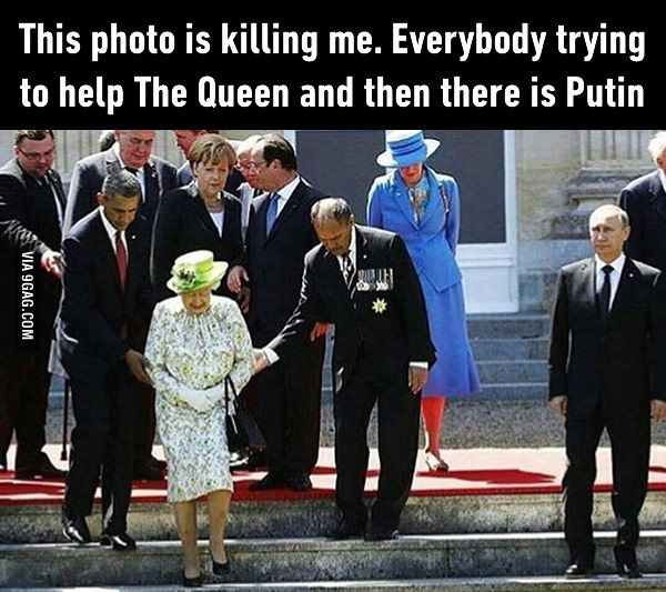 Putin, you savage