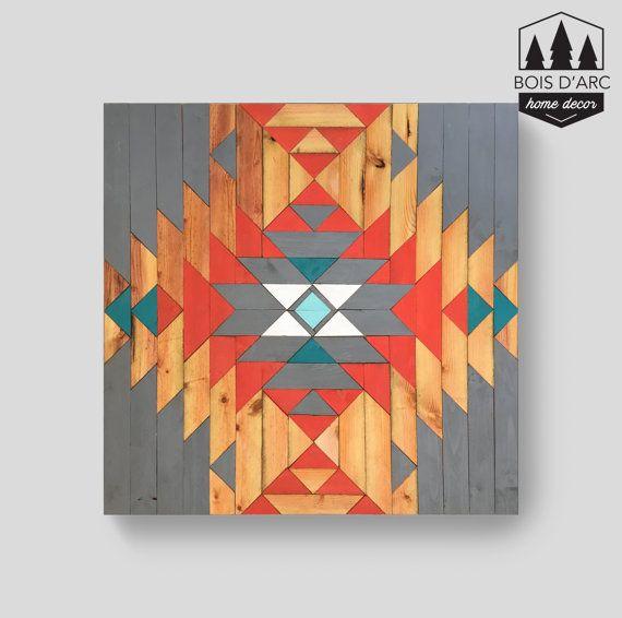 The Aspen- Home Decor - Wood Wall Art - Wooden Decor - Wooden Wall - pared de madera
