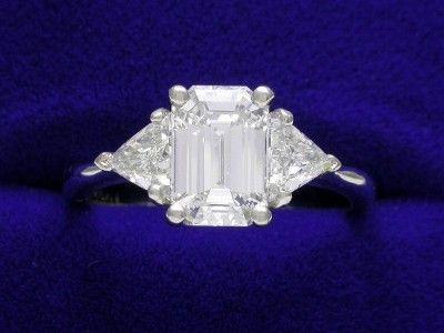 Emerald cut diamond engagement ring - Dear Future Fiancé...