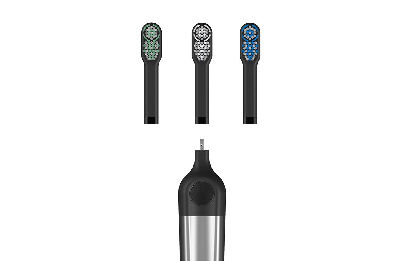 Electric Toothbrush Concept Brushing teeth, Electric