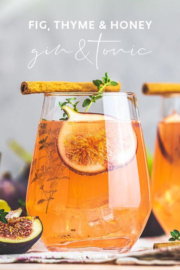 Fig, thyme & honey G&T | Craft Gin Club