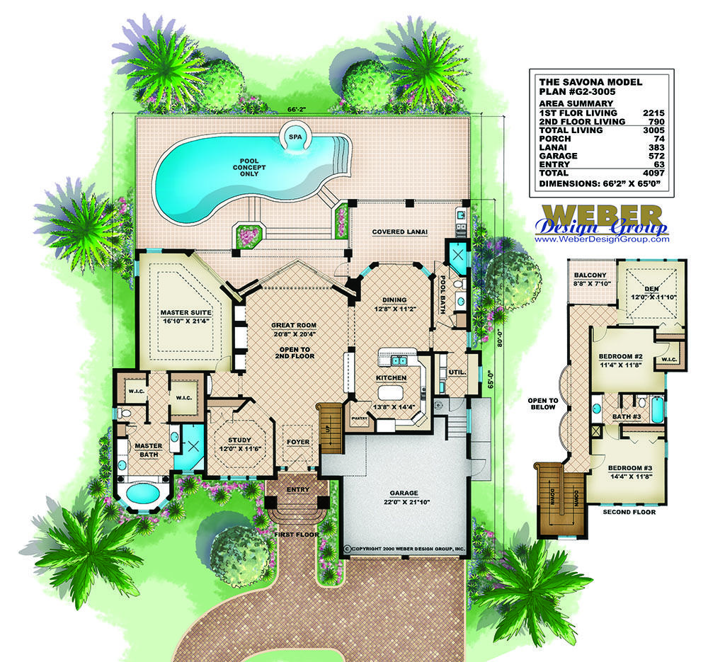 Mediterranean House Plan 2 Story Coastal California Style Floor Plan Mediterranean House Plans Mediterranean House Plan Mediterranean Style House Plans