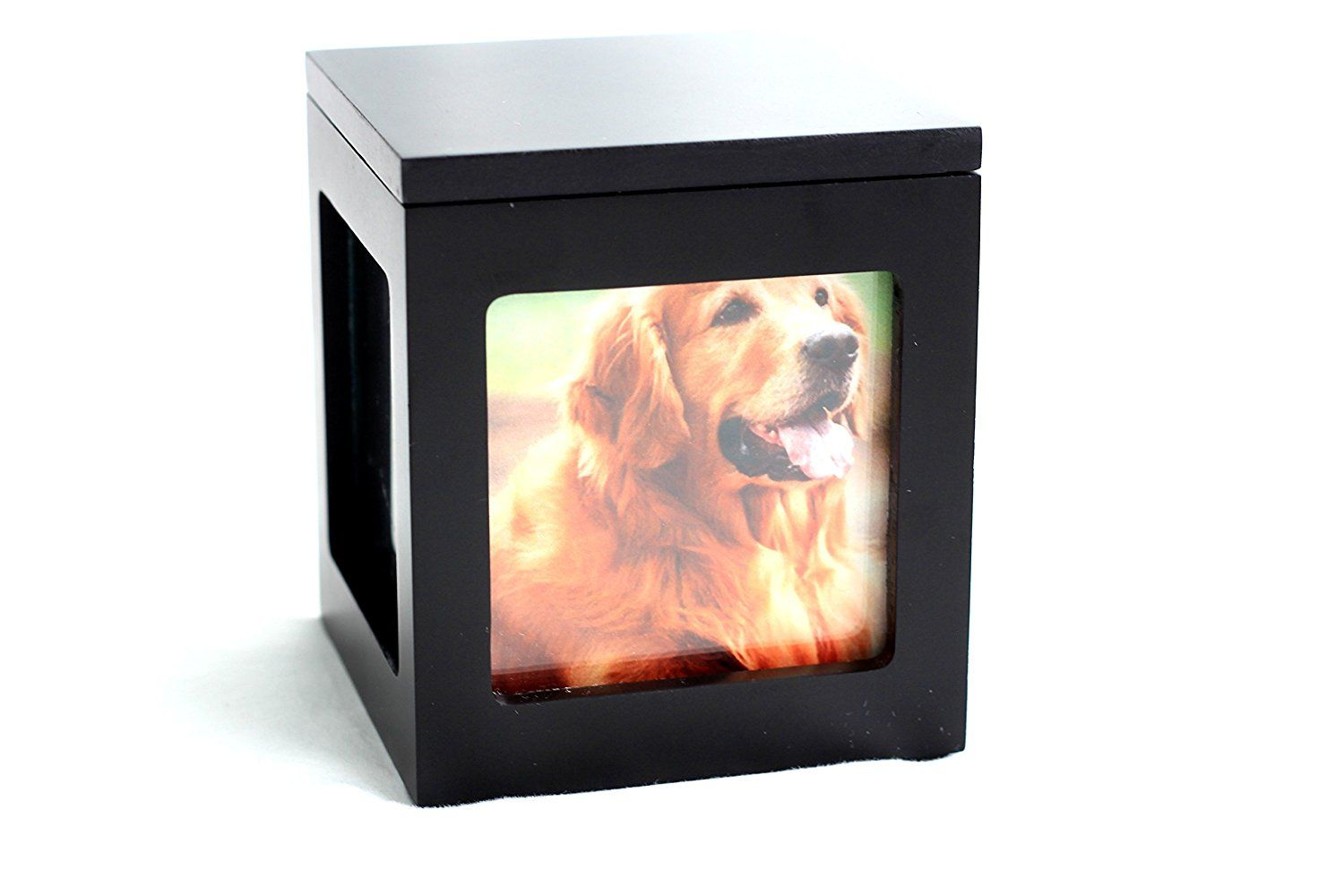 Amazon Com Heavenly Home Pet Keepsake Multiple Photo Cube Pet Urn For 1 To 4 Pictures Cremation Memorial For Pe Pet Keepsake Pet Cremation Pet Cremation Urns