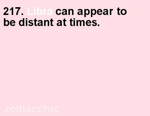 Libra man distant