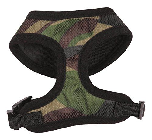 Casual Canine Camo Dog Harness Large Green