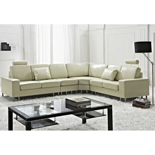 Marvelous Stockholm Beige Contemporary Design Sectional Sofa By Gmtry Best Dining Table And Chair Ideas Images Gmtryco