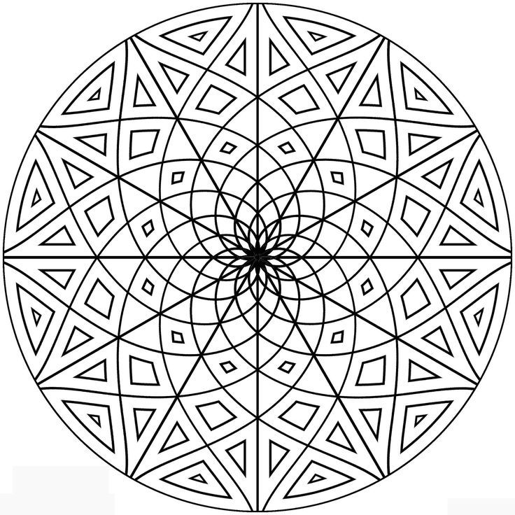 how to draw symmetrical patterns