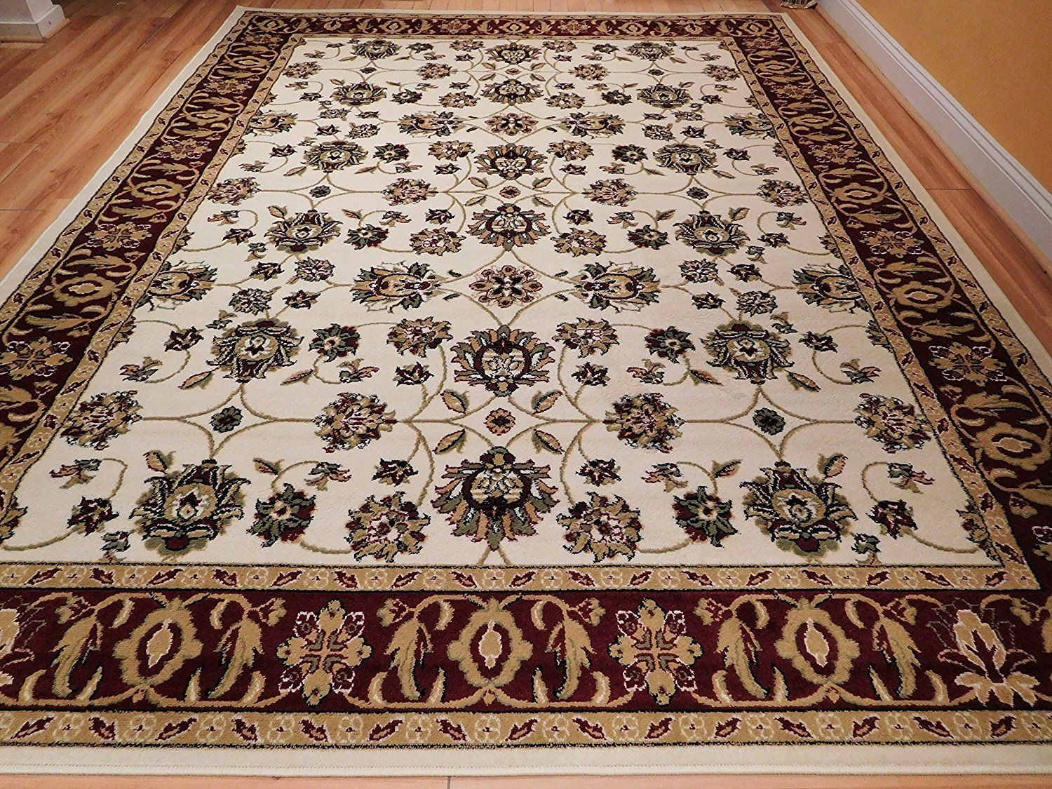 New Traditional Area Rug 2x3 Cream Foyer Rugs 2x4 Persian All Over