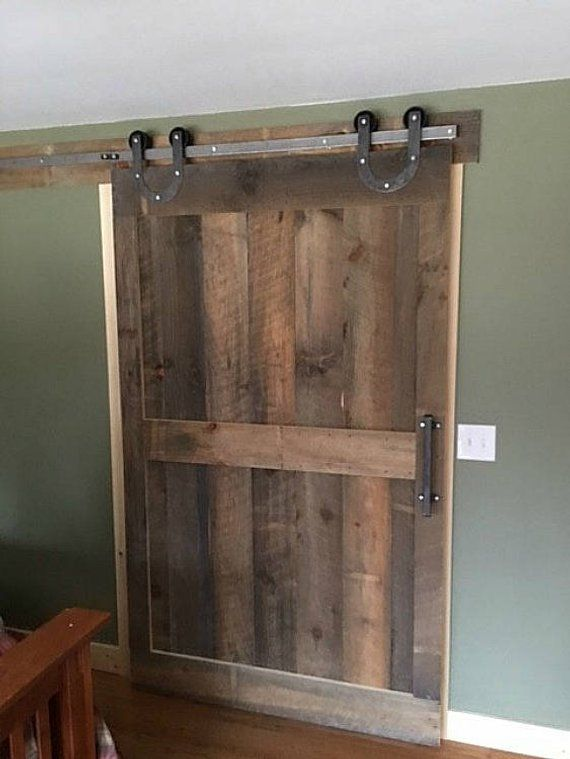Farmhouse Style Horseshoe Hangers Sliding Barn Door Hardware