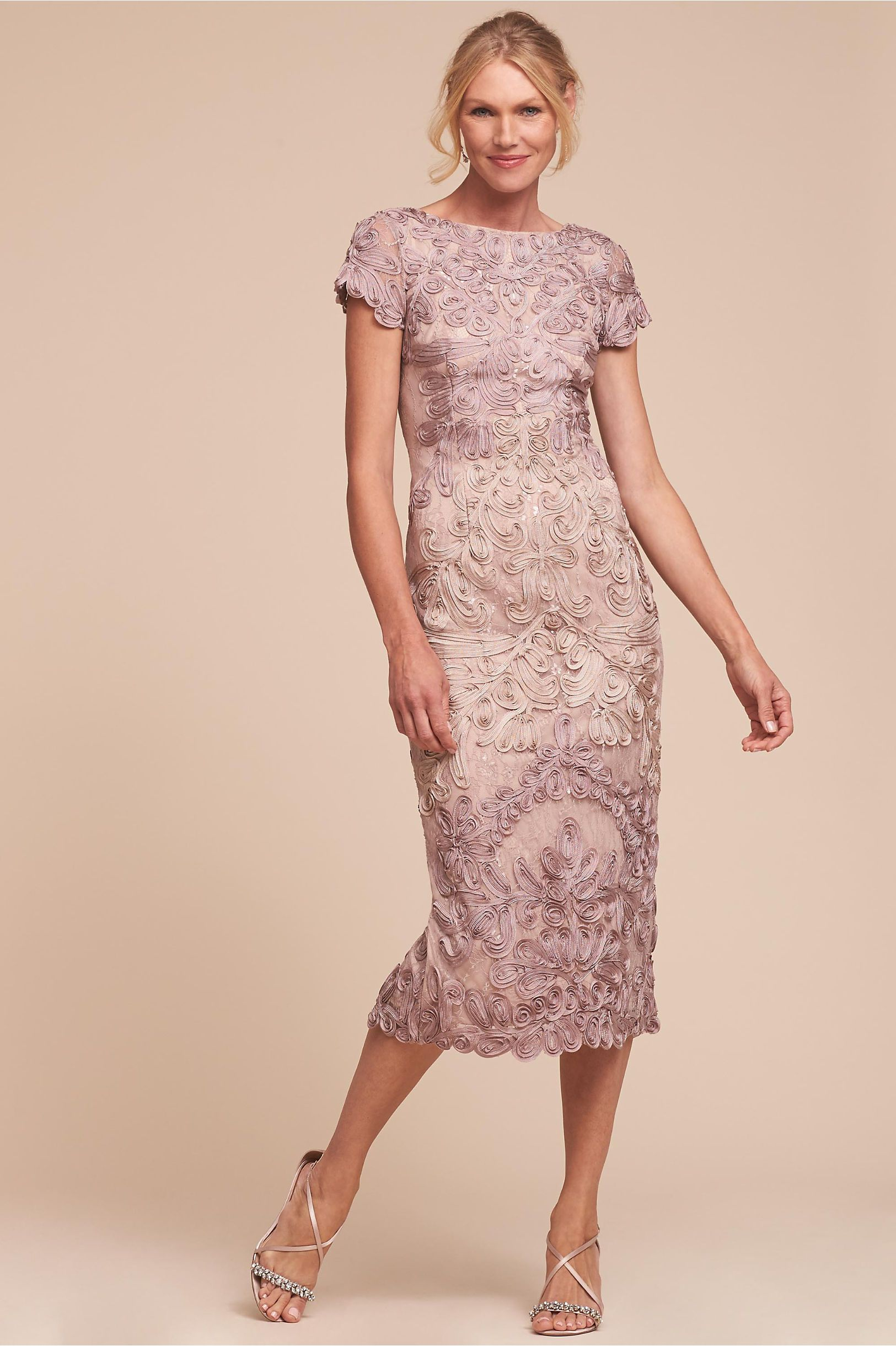 BHLDN Santiago Dress Pink/Sand in Bridal Party | BHLDN | Mother of ...