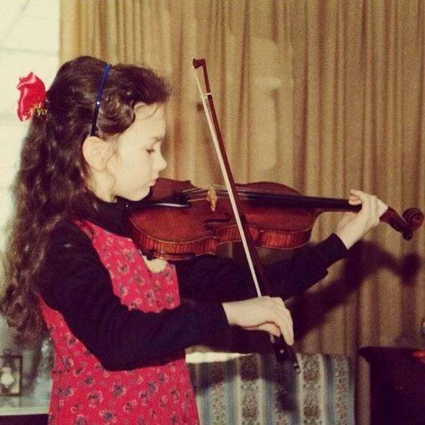 Young Hilary Hahn | Violinists in 2019 | Double bass, Violin