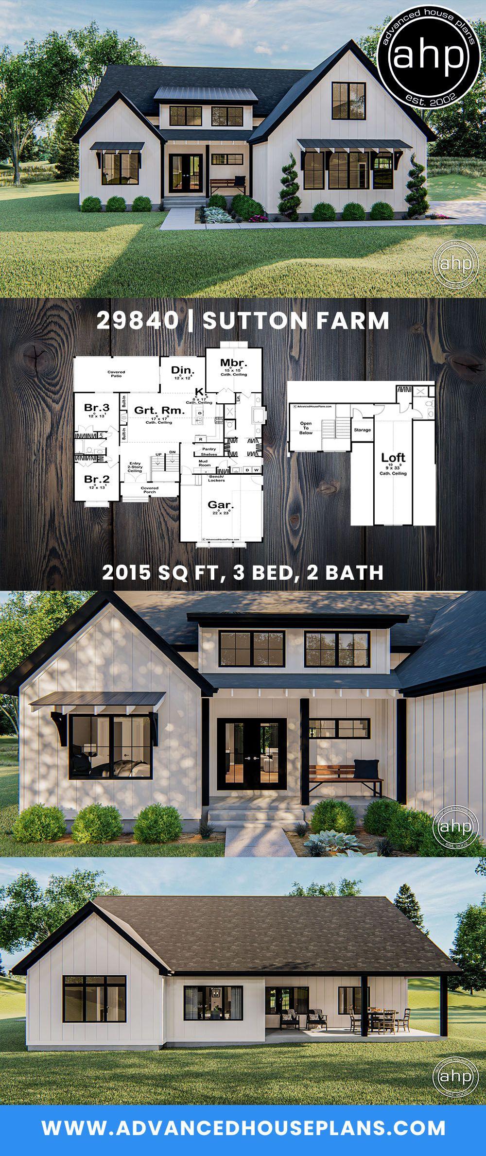 36+ Modern farm home plans inspiration