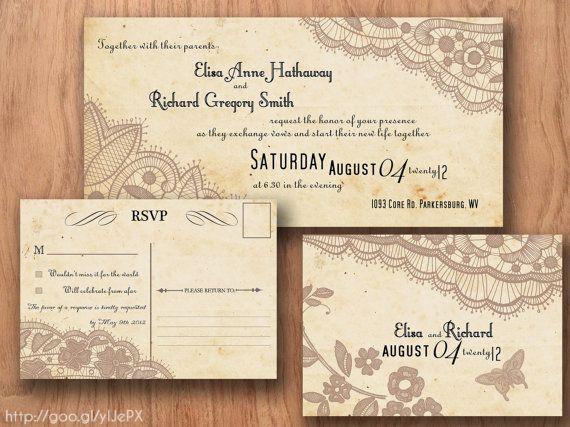 Wedding Invitation Postcards Templates Wedding Postcards Online - post card invitations