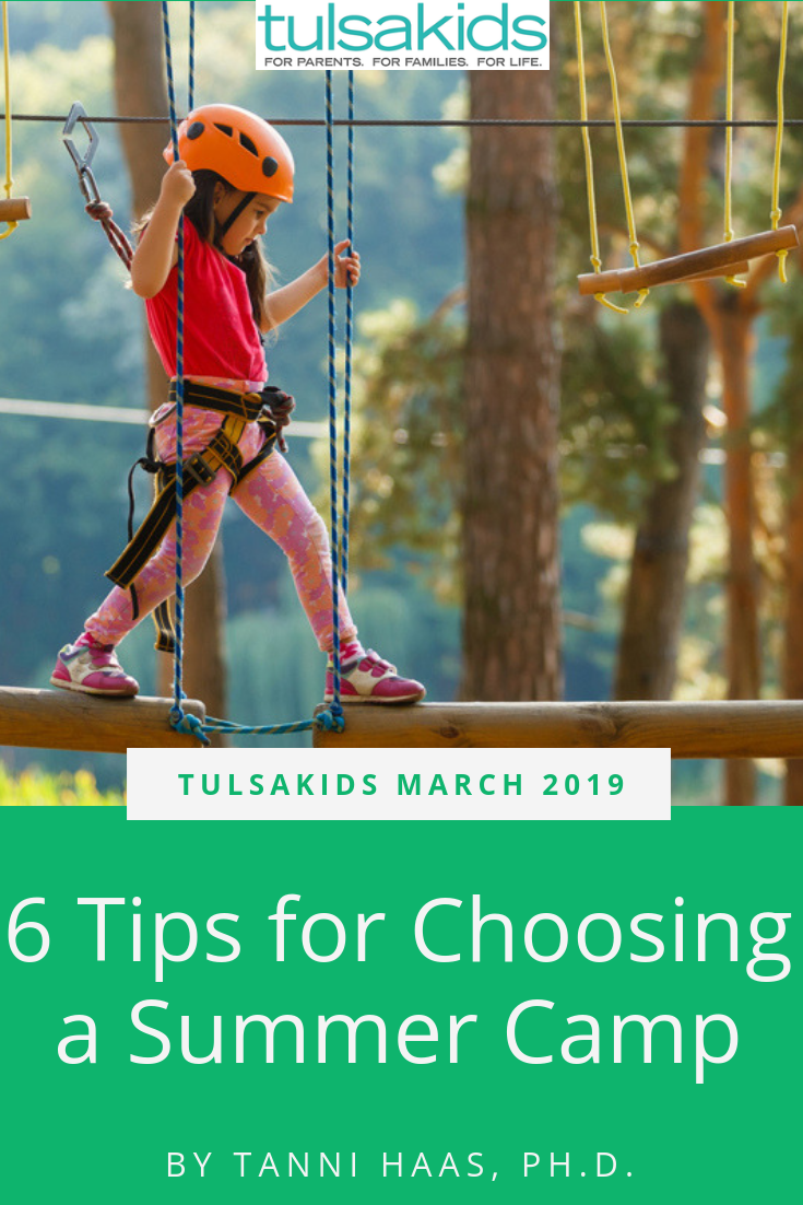 Six Tips For Choosing A Summer Camp Tulsa Kids March