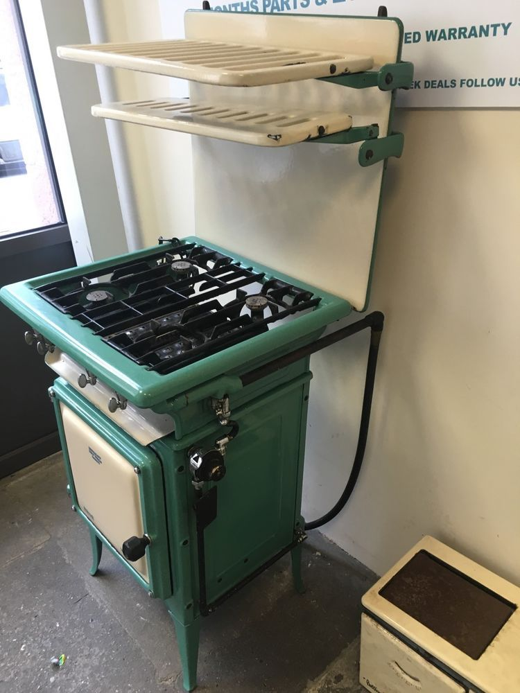 antique vintage gas cooker 1920 s perfect working order retro and very rare old cook stoves. Black Bedroom Furniture Sets. Home Design Ideas