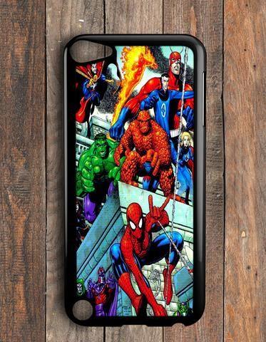 separation shoes 45933 5da52 Hulk Siderman Superheroes Marvel iPod Touch 5 Case   CaseNirvana ...