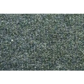 Captivating Blue Hawk Nance Carpet Gray Indoor/Outdoor Tufted Runner (Common: 2