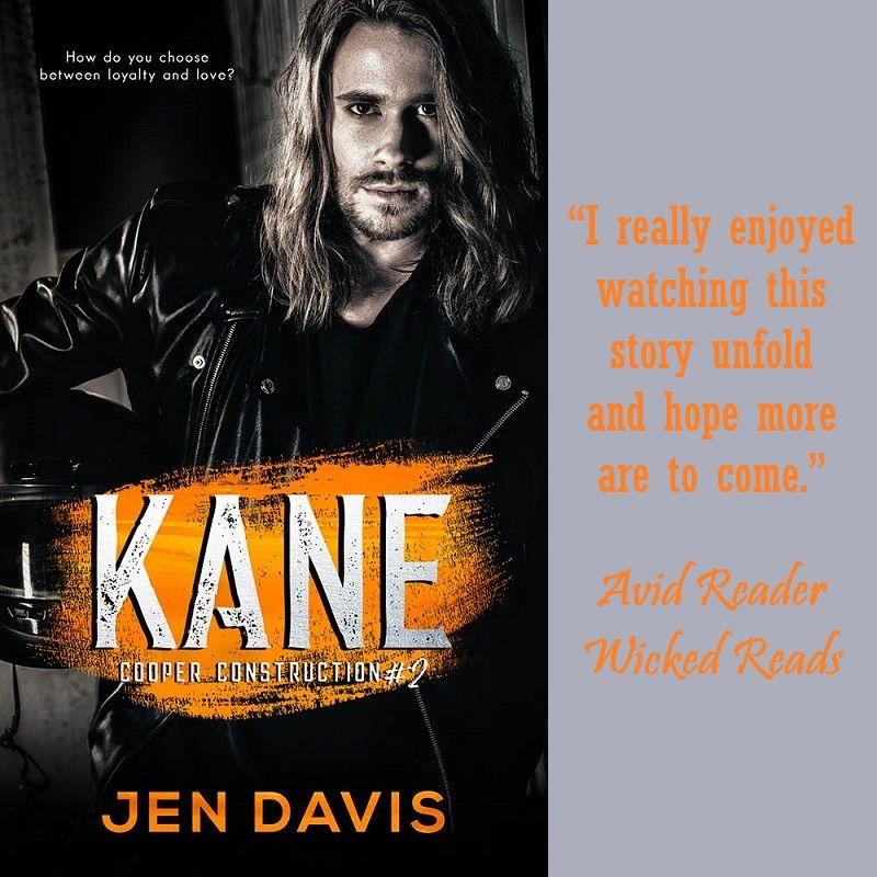 Kane by jen davis romantic suspense love comes back