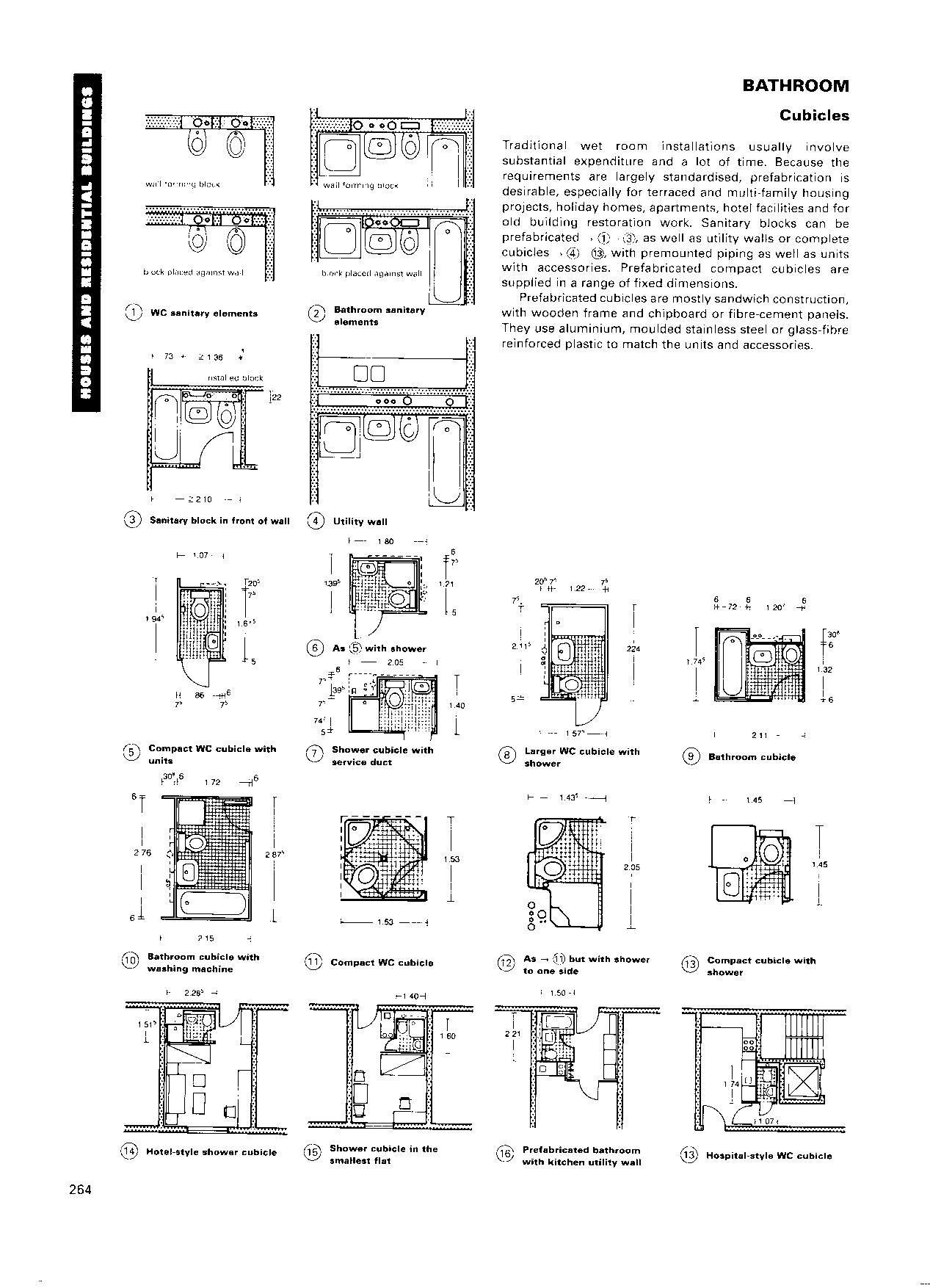 neufert architects data ed 3 arquitectura pinterest On neufert baños