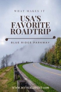 Drive the Blue Ridge Parkway this Fall - 3 Day Itinerary for America's Favorite Road Trip - My Ticklefeet